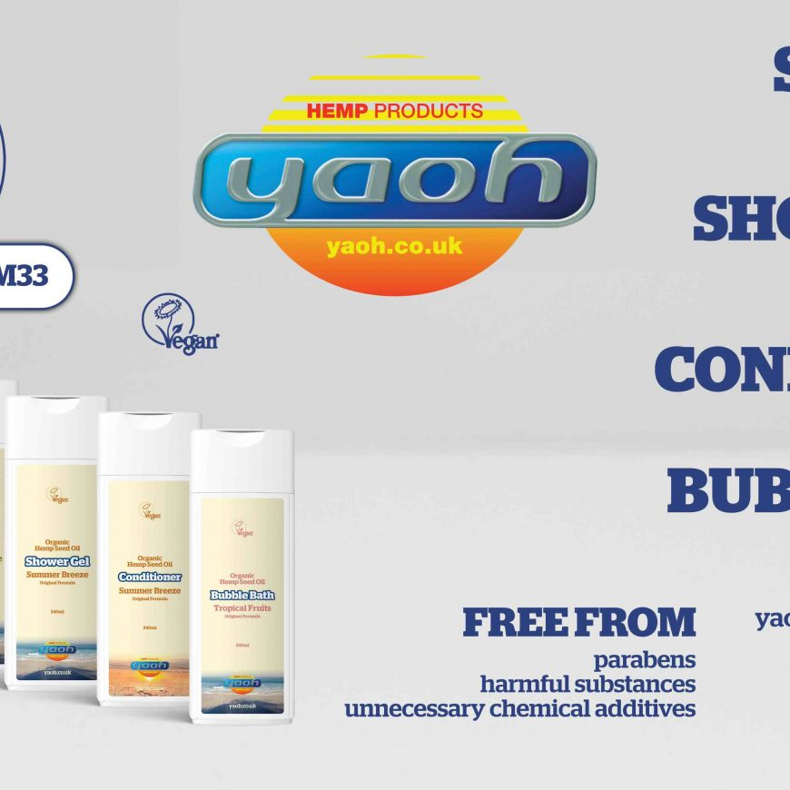 Selected Yaoh bath products available on a 33% off special offer until end of Dec 2018