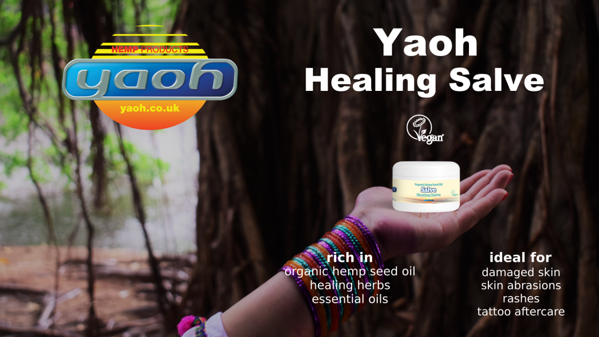 Yaoh featured product for January-February 2019 – Healing Salve